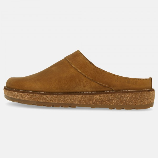 Sandale-818070895-Braun-Linen-Travel-Clog-Neo-Links