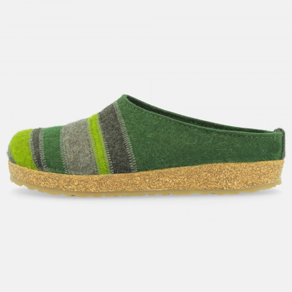 Filzpantoffel-Gruen-Braunmeliert-71104963-Stripes-Links