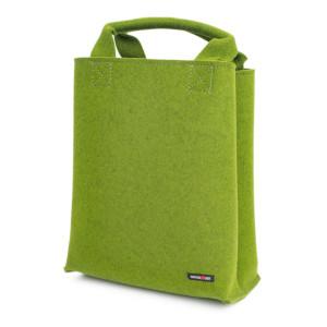 Grüner Filz-Shopper