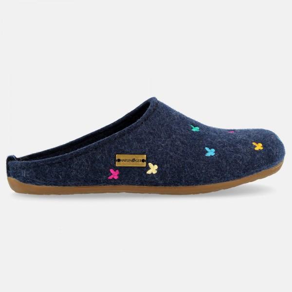 Filzpantoffel-Blau-Jeans-48401874-Farfalline-Rechts