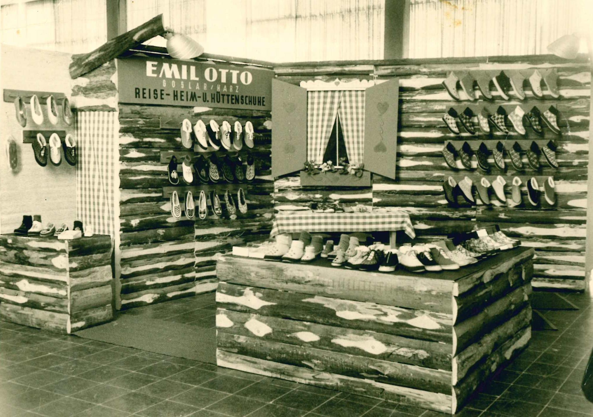 Präsentation der Haflinger Schuhe