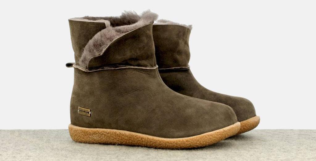 lammfell-pantoffel