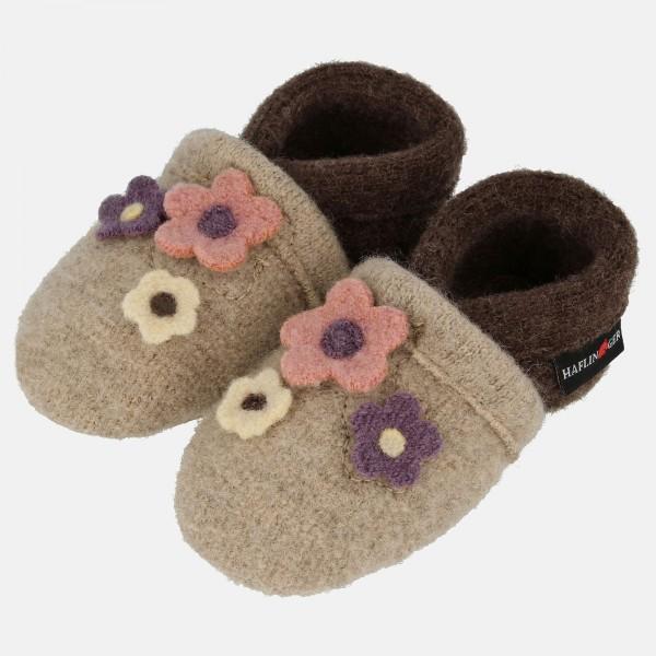Haflinger-Babyschuh-Beige-Papiermeliert-oeko-65303587-Aroma