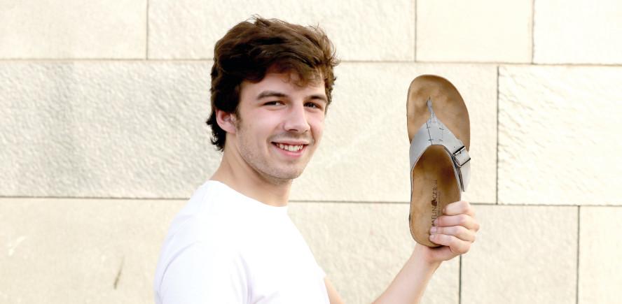 Zehentrenner Sandalen für Herren