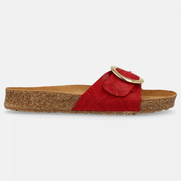 Sandale-8190751637-Rosso-Round-Buckle-Gina-Rechts