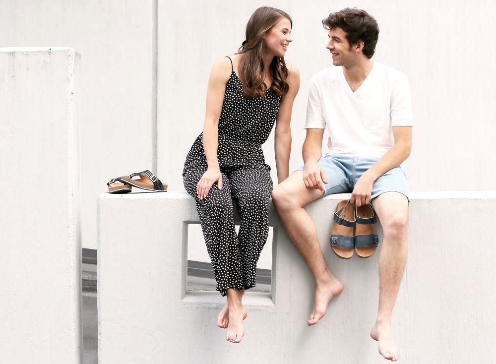 Bio-Sandalen für Damen, Herren und Kinder