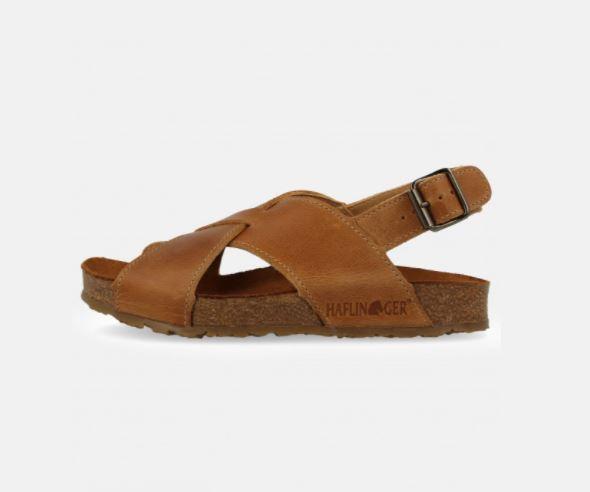 Bio-Sandalen aus Leder für Hungen