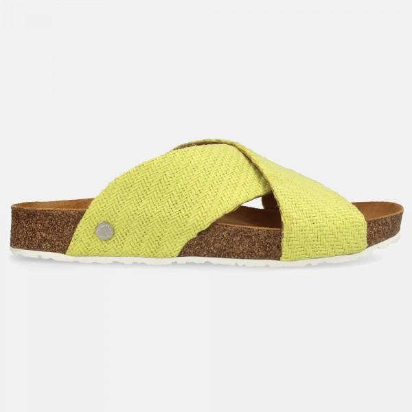 Sandale-Gelb-8194121617-Mio-Leinen-Rechts