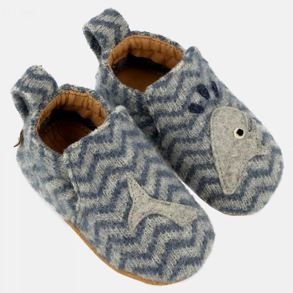 Haflinger-Babyschuh-Taubenblau-65307159-Moby